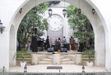 Wedding Reception at Riyad pool side by Rumah Maroko