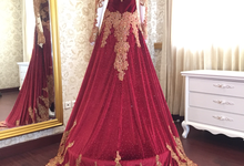 kebaya wedding disewakan by Manara Couture