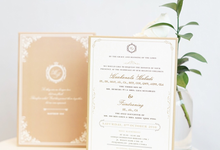 Wedding of Huakanala & Fiindraning  by Memoir Paperie