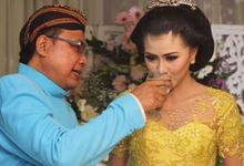 anan & zesita wedding  by Manara Couture