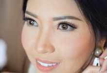 Beauty make-up for Yunnyta Tjong by Tiffany Roselin Makeup Artist