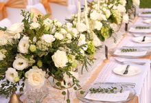 Larisa & Chengge Dong's Wedding Dinner Reception by It's True Wedding Planner and Decoration