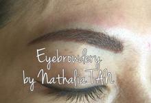 Eyebrow Embroidery  by Nathalia TAN Makeup Artist