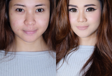Before & After by Natalia Ingkiriwang Bride Make Up