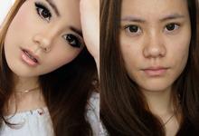 Fresh and soft make up by AT. MUA