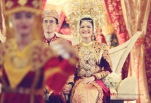 Muthia & rifan  by By Ants Photography & Wedding Planner