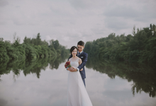 Pre wedding shoot  by The Style Atelier Singapore