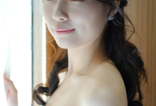 Bride Cindy AD by Cocoon makeup and hair