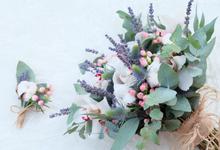 Stella & Lucas wedding on Winter Rustic theme by Seed & Stem