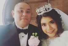 Wedding Day Rizki and Ruanka by Luminous Bridal Boutique