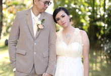 The wedding of Alvin & Ribka by Celeste