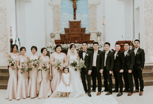 The Wedding of Candy & Isabella by BELLE MARIEE
