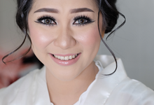 Courtesy Wedding Makeup of Febyola & Rio by Natalia Ingkiriwang Bride Make Up