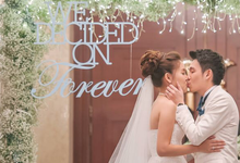 A Winter Wonderland Wedding Dream comes true! by Heaven's Gift - Special Events Design and Consultancy