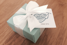 Wedding favors by La Grazia Wedding & Party Supplies