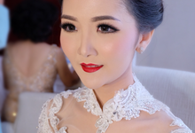 Evening Look For Mrs. Priska by Natalia Ingkiriwang Bride Make Up