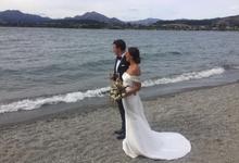 Classic Mikado Wedding Dress by Kelly's Bridals