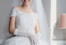 Bridal make-up of Aurelia by Tiffany Roselin Makeup Artist