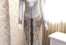 kebaya akad disewaka by Manara Couture