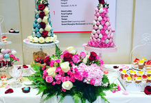 Dessert table - spring theme by Rainbowly Pte Ltd