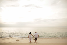 Audrey + Bintang | The Engagement  by Costes Portrait