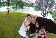 Pre-Wedding Photoshoot + by Angel Chua Lay Keng Makeup and Hair