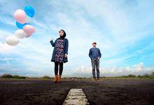 Prewedding Echa & Gilang by colorful photo cinema