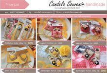 Price List by Candela Souvenir
