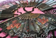 Souvenir Kipas by Galeri Craft
