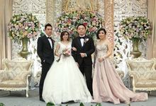 Yolanda & Winson Wedding by Amarante Flower Boutique