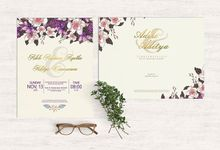 Adele & Aditya Wedding by Pentone Craft and Paper