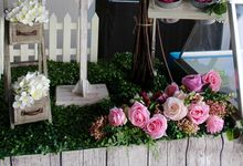 A Rustic Chic Garden Wedding by Manna Pot Catering