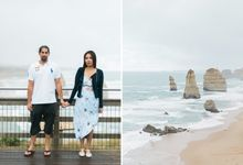 Guy and Clarissa - Australia Engagement Photography by Love Train Studios