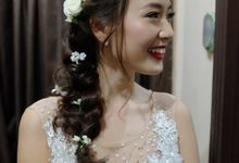 Wedding Day Vincent & Olivia by Charlane Yu Makeup and Hair