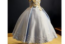 Ice Blue Dresses by YCL - Yuliana Catharina Lionk