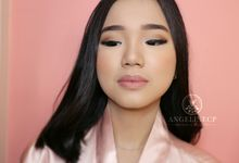 Super Soft Makeup For Ms. Chacha (as Requested) by Angeline CP Makeup Artist