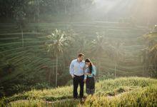 Sunrise Rice Terrace by Maxtu Photography