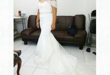 Wedding Gown Fitting (Clients) by Winona Makeup & Bridal
