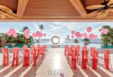 A wonderful over the water wedding at Conrad Koh Samui by BLISS Events & Weddings Thailand