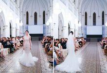 Fashion show at Chijmes by Rebecca Caroline