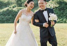 Classic And Simple Wedding Gown by evelingunawijaya