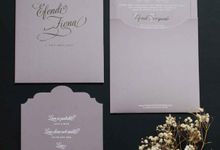Efendi & Fiona by Vinas Invitation