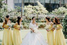 Yan & Clairine Wedding by Liliane Florist Jakarta