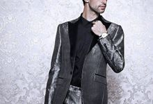Man Bespoke Suits by Victoria Wedding Collection