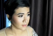 Sister Of The Groom And Bride by Precious Make Up