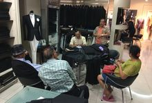 Visit & Fitting Process by Ventlee Groom Centre