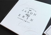Jason & Erin by Vinas Invitation
