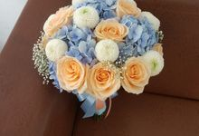 Handbouquet For Christin by nanami florist