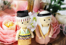 Pentagon Ring Bearer for Jafar & Icha by Jeestudio Id