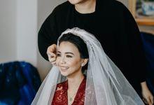 NICO & ERVINA WEDDING by AMITIE Bridal Accessories